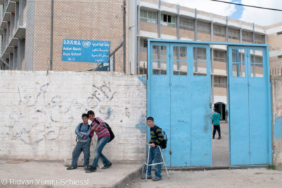 Against backdrop of UNRWA funding crisis, 61 Palestinian schools are at risk of demolition or shutdown
