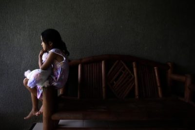 Venezuela's children suffer in hunger and refugee crisis