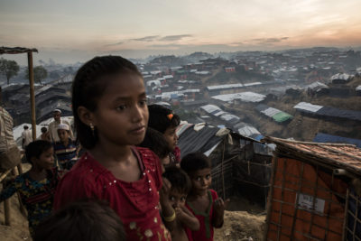 Record number of children forced from their homes by conflicts and persecution