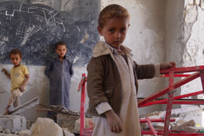 Shocking stats that reveal the full horror of life for children in war-torn Yemen