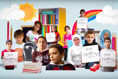 Share this video and make world leaders keep their promise to get EVERY Syrian refugee child in school