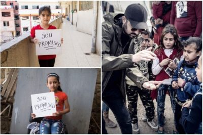 #YouPromised ... now get every Syrian child in school, Dynamo tells world leaders