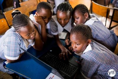 Theirworld partners with Youth for Technology Foundation on new Code Clubs in Kenya