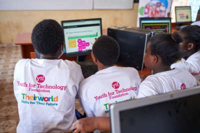 These girls can! Watch how Theirworld is empowering girls with digital skills for their future