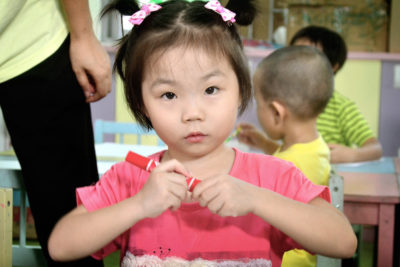 Loving care for children under five who are orphaned or abandoned
