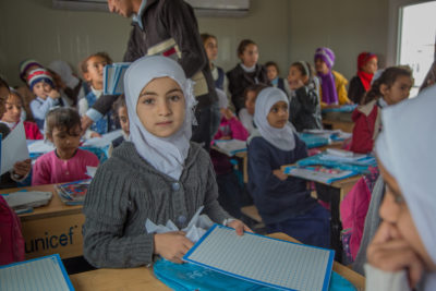 Children from marginalised Iraqi community have a school again after 14 years