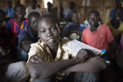 Civil war and lack of food wreck children's education in South Sudan