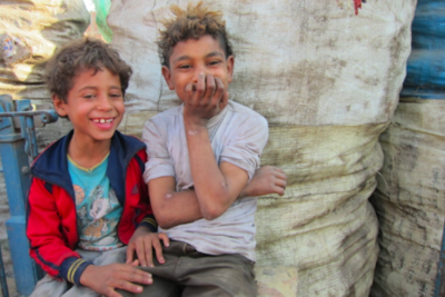 Shanty town school educates the children of Cairo's 'garbage people'