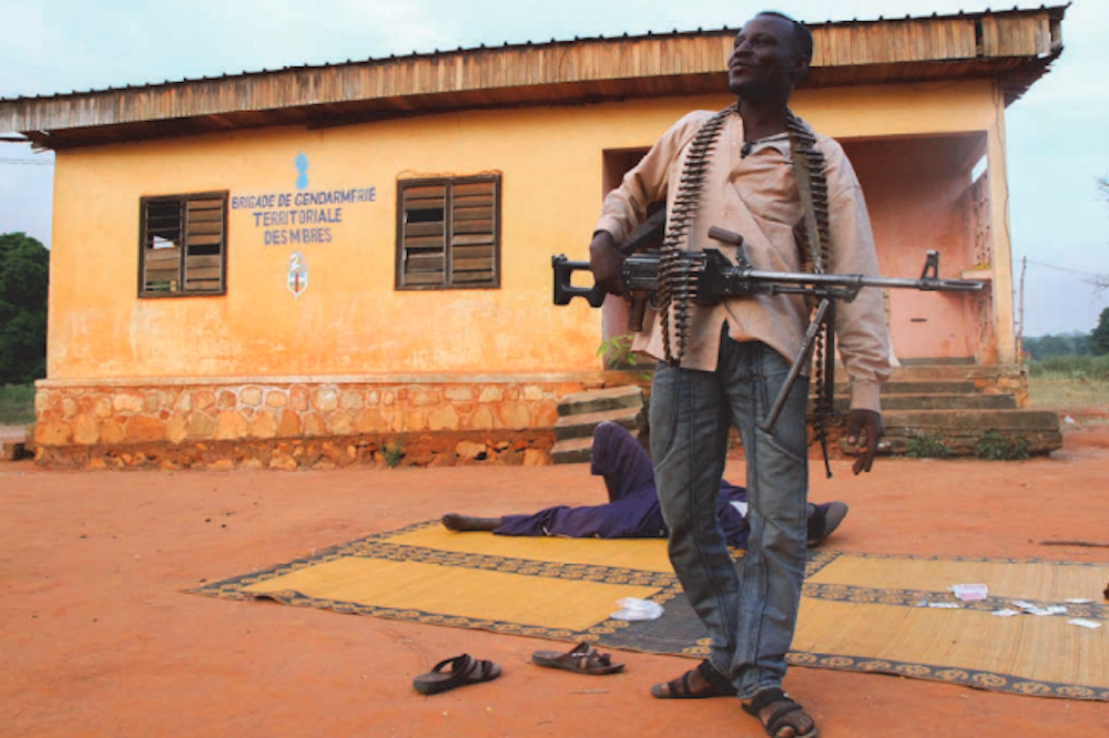 War in Central African Republic leaves 'sacrificed