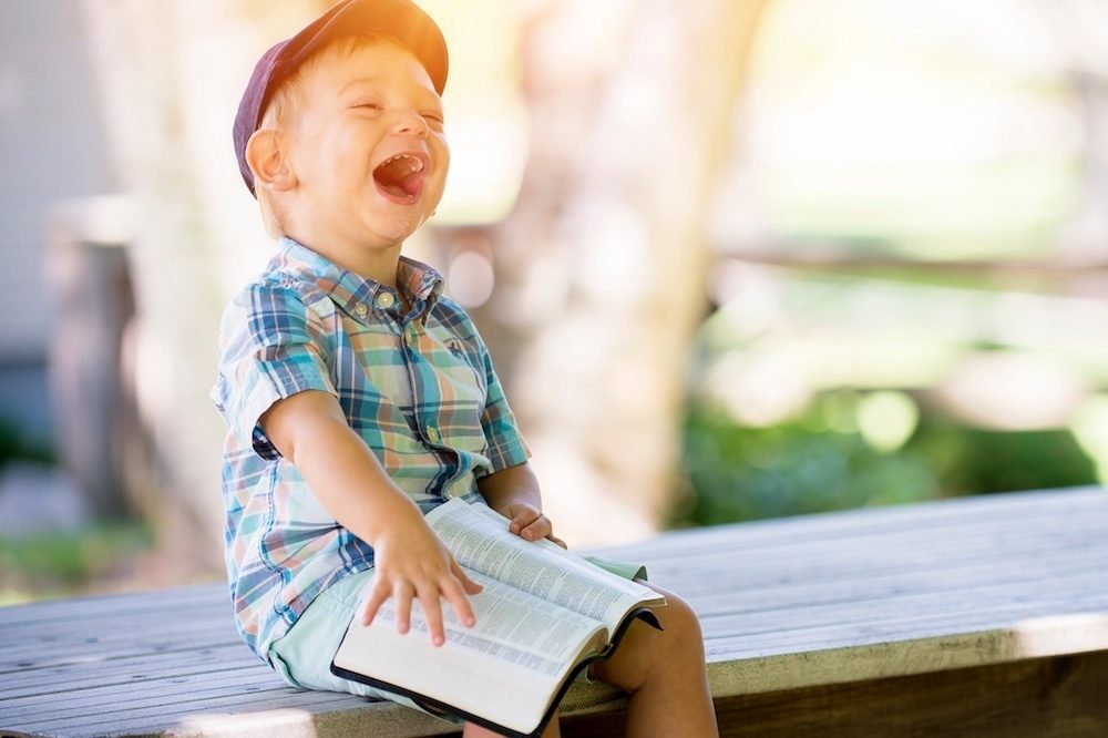 It's no joke! Laughter is a vital part of a child's development ...