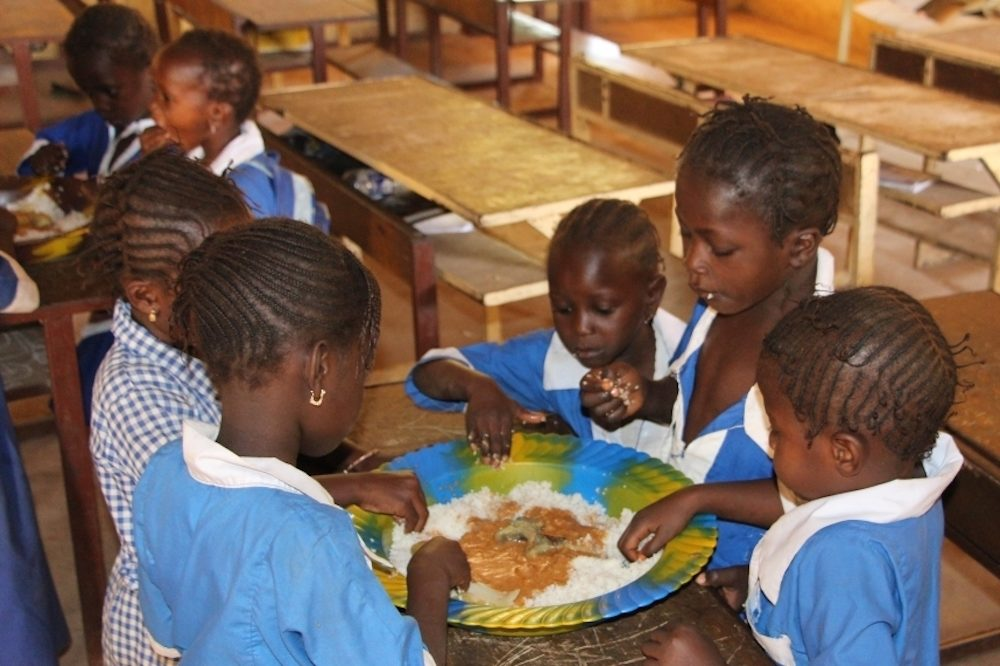 School meals programme helps young children, farmers and the