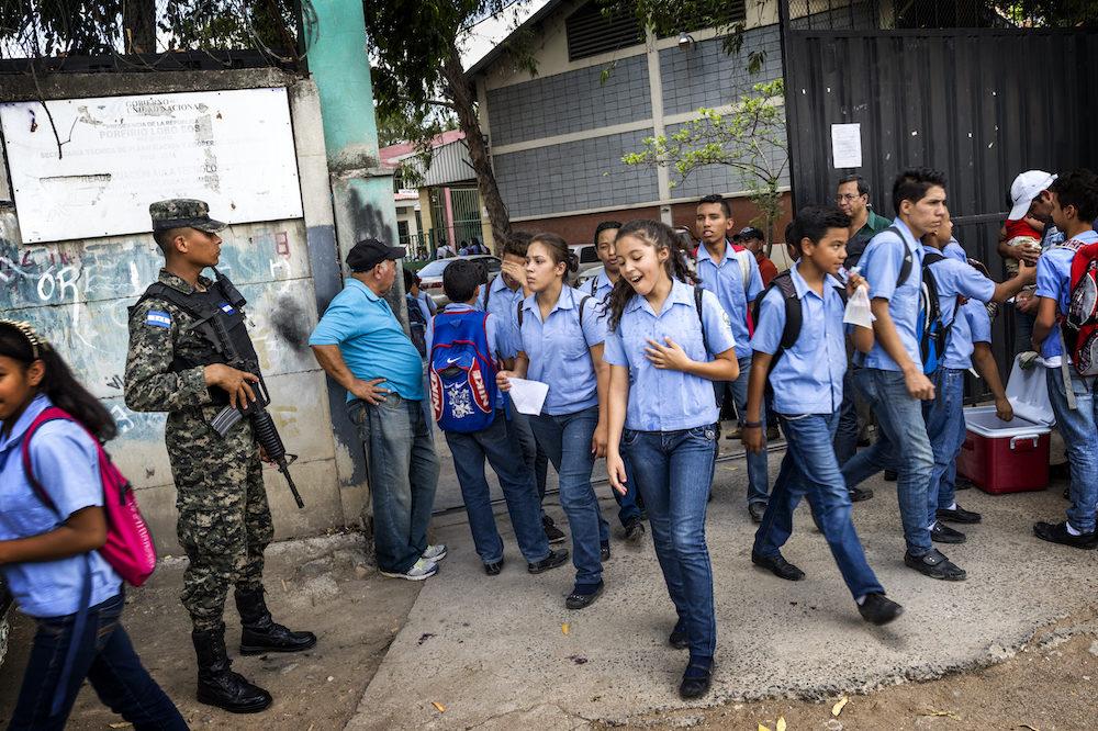 Gang wars mean school can be a battleground in Honduras ...
