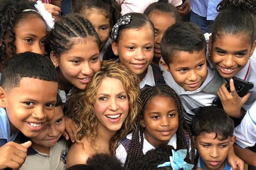 A School Opens And The World Changes Says Education Champion Shakira Theirworld