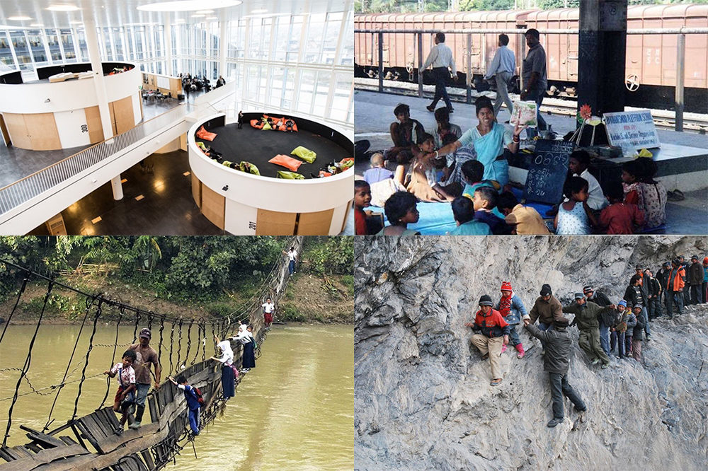 15 of the most unusual schools in the world ✎ Theirworld
