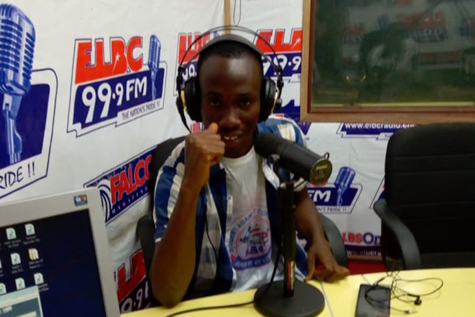 """As President of Students Against Corruption, I use radio to reach out to people in rural places"""