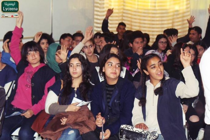 """""""Tunisian education is memory-based learning - we are trying to teach new skills"""""""