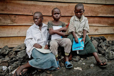 """Our aim is to provide access to schooling for vulnerable children in DRC military camp"""