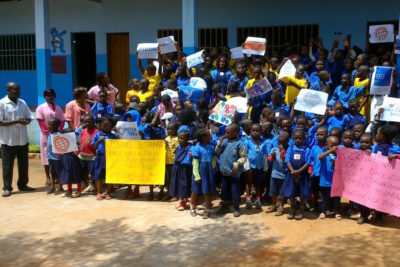 Peace and understanding: our Global Youth Ambassadors celebrate message of non-violence