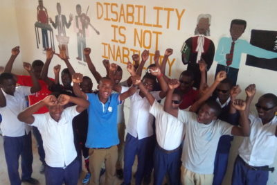 """Raising the voice of visually-impaired and blind students about access to education"""