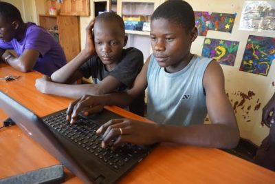 """Street children in Uganda go online to debate inequality with friends all over the world"""