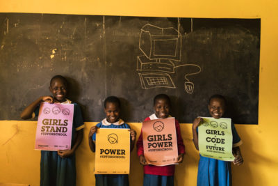 """The Code Club has helped to unlock the hidden potential of these girls"""