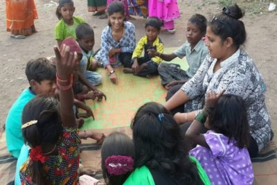 """""""I started a small school under a bridge for child beggars and labourers"""""""