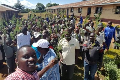 """""""We created awareness of conservation and 200 pupils and teachers each planted a tree"""""""