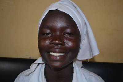 """With the help of the education I am getting from my school, I will be an ambassador of change"""