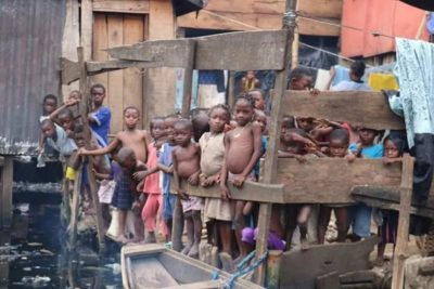 """The Makoko Dream School is a school on water for children in urban slum"""