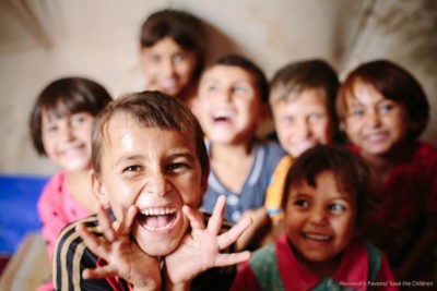 """In conflict, crisis, poverty and discrimination ... how we are helping children into school"""