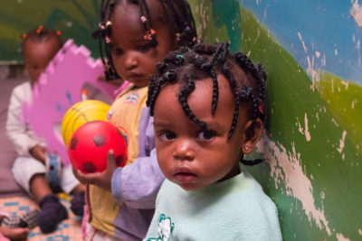 """There are at least 2700 informal child daycares in Nairobi - Tiny Totos is working to help them upgrade their services"""