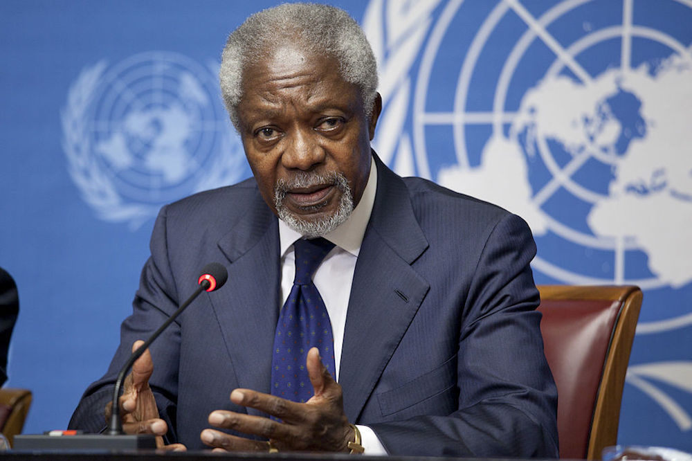 Kofi Annan Believed In This Current Generation To Make A