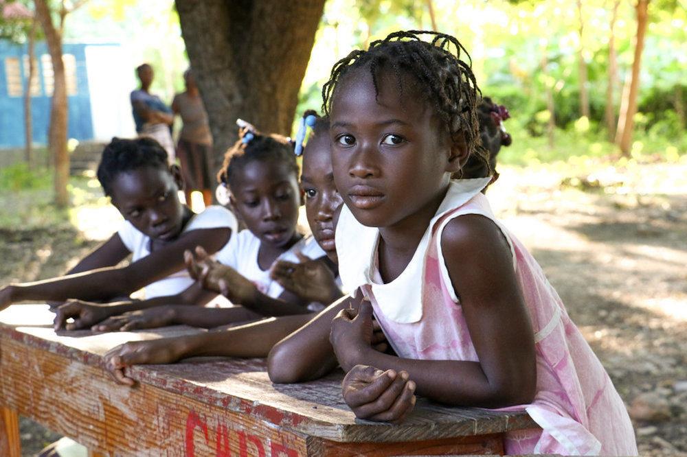 Young haitian girls