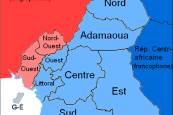 When We Teach Children From Birth In Their First Language It - Cameroon language map
