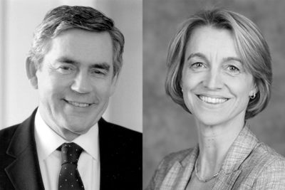 Interview Special: Gordon Brown and Liesbet Steer