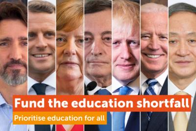 The Global Education Funding Gap