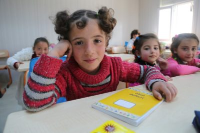 Refugee education in Greek islands special