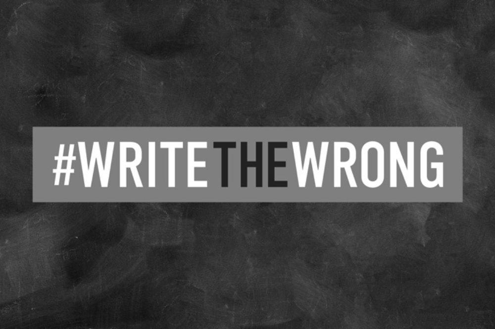#WriteTheWrong